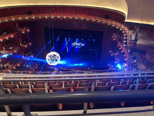 Prudential Hall at the New Jersey Performing Arts Center, section: Tier 4, row: G, seat: 142