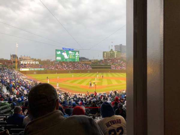 Wrigley Field, section: 217, row: 7, seat: 23