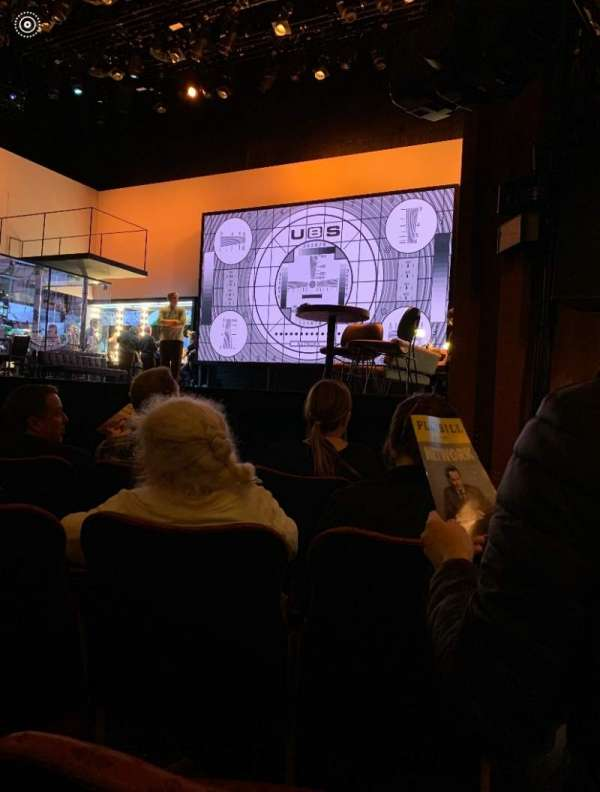 Belasco Theatre, section: Orchestra R, row: D, seat: 10