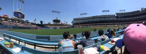 Dodger Stadium, section: 45BL, row: CC, seat: 4