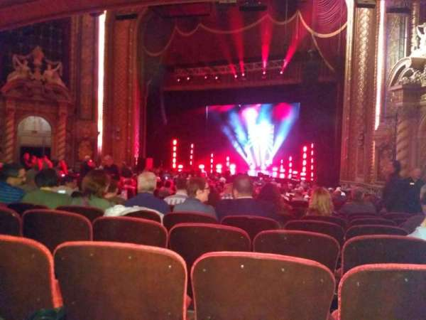 Wang Theatre, section: ORCHRC, row: X, seat: 24