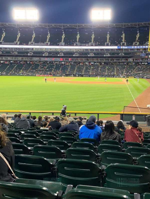 Guaranteed Rate Field, section: 157, row: 22, seat: 9