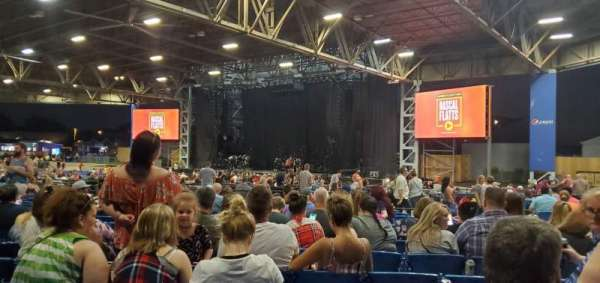 Hollywood Casino Amphitheatre (Maryland Heights), section: Upper Right Center, row: OO, seat: 70