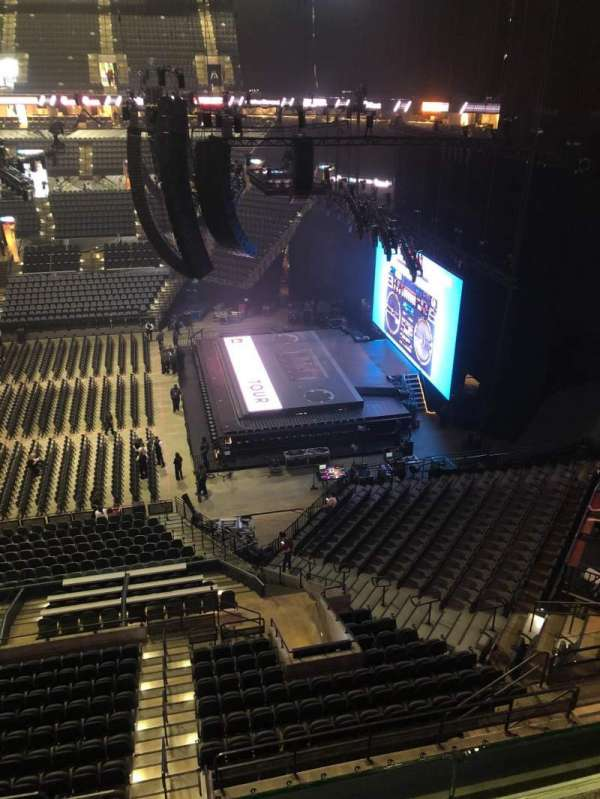 AT&T Center, section: 222DA, row: R , seat: 10