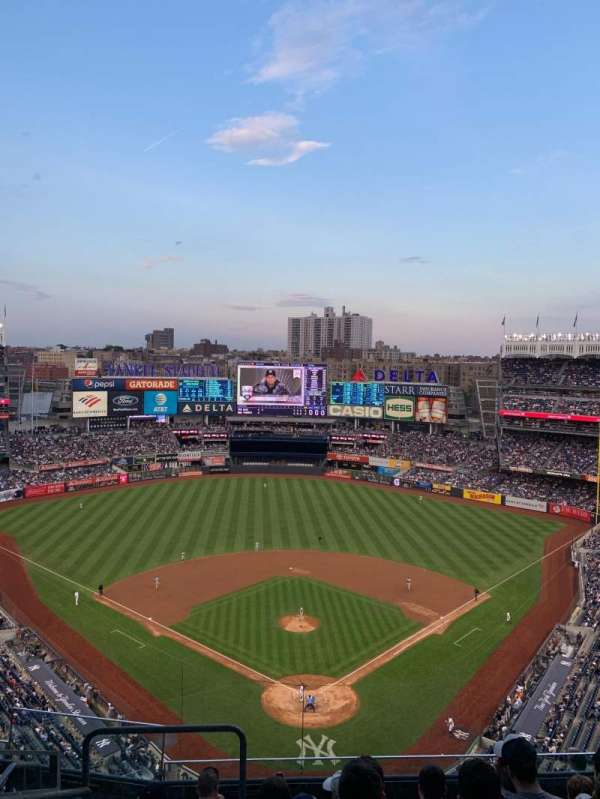 Yankee Stadium, section: 420b, row: 7, seat: 27