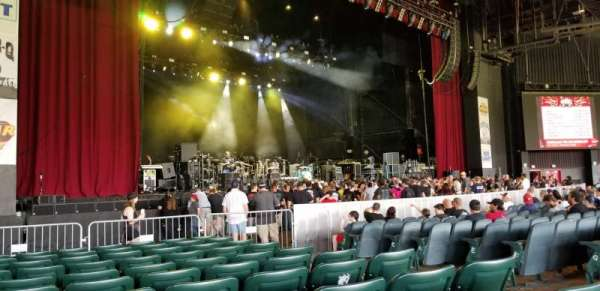 BB&T Pavilion, section: 104, row: L, seat: 6