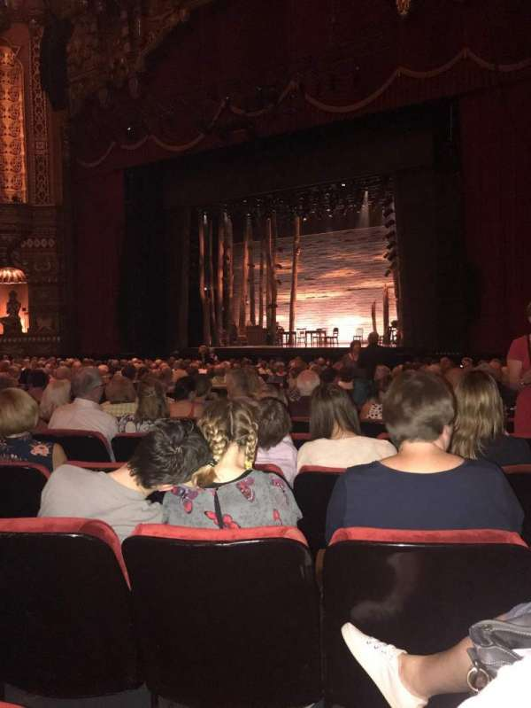 The Fabulous Fox Theatre (St. Louis), section: Orchestra 5, row: S, seat: 18
