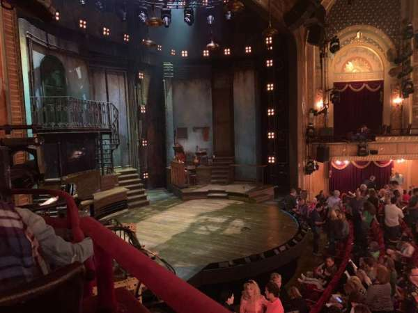 Walter Kerr Theatre, section: Box B, seat: 7