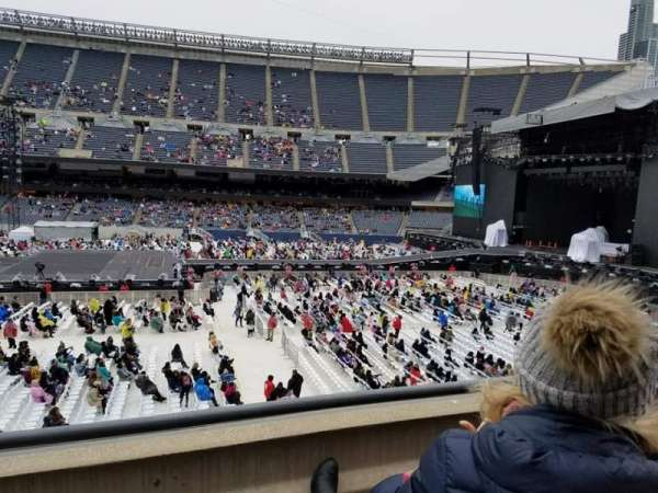 Soldier Field, section: 207, row: 2, seat: 2