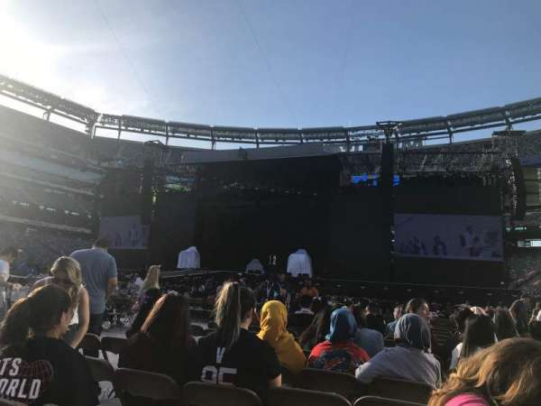 MetLife Stadium, section: 7, row: 13, seat: 8