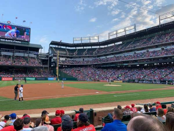 Globe Life Park in Arlington, section: 17, row: 6, seat: 5