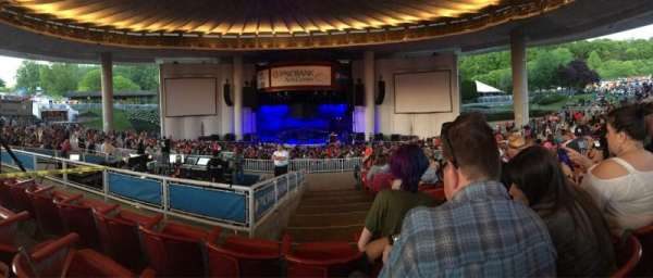 PNC Bank Arts Center, section: 302, row: L, seat: 114
