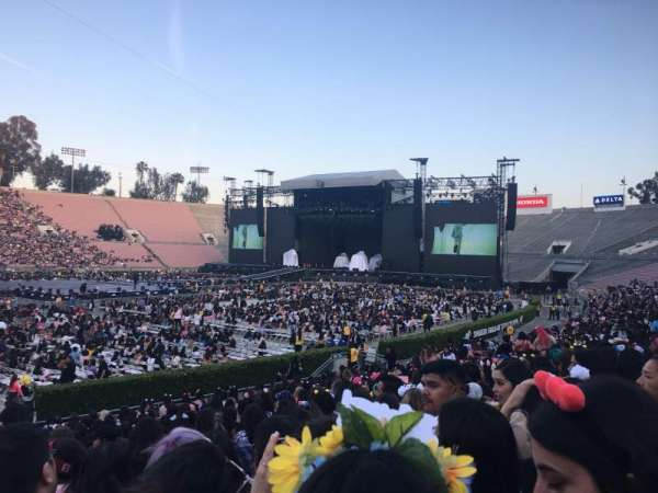 Rose Bowl, section: 16-H, row: 19, seat: 10