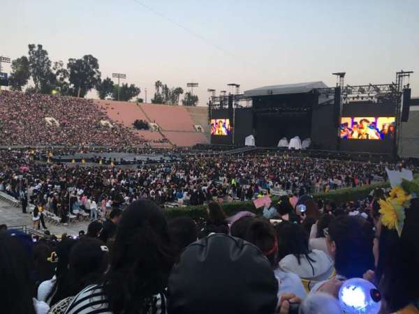 Rose Bowl, section: 16-H, row: 19, seat: 102