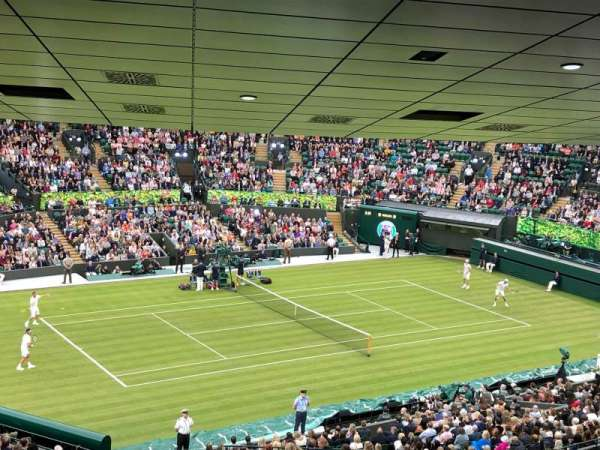 Wimbledon, Court No. 1, section: 17, row: ZB, seat: 204