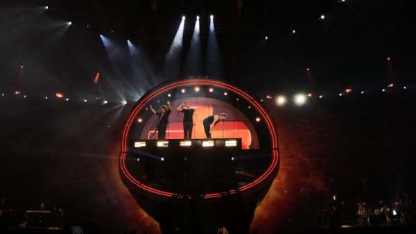 Arena Birmingham, section: B, row: J, seat: 8
