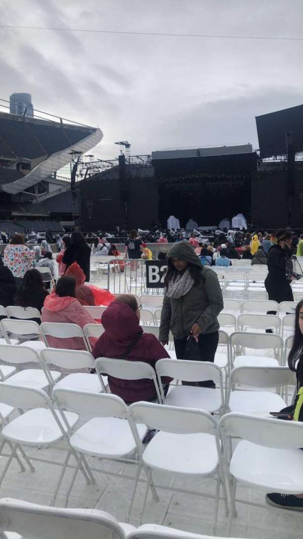 Soldier field , section: C2, row: 8, seat: 15