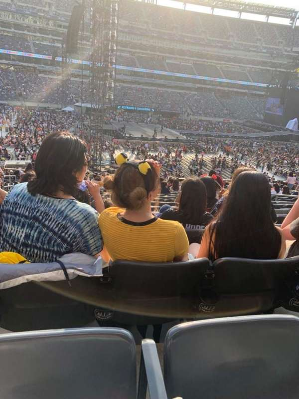 MetLife Stadium, section: 115A, row: 36, seat: 11