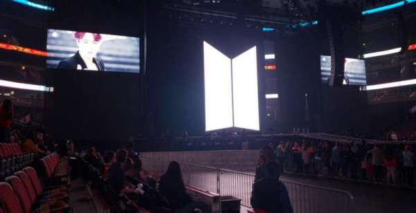 United Center, section: 111, row: 3, seat: 12