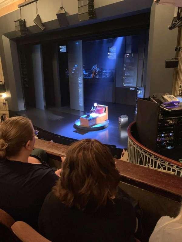 Music Box Theatre, section: Mezzanine R, row: B, seat: 22
