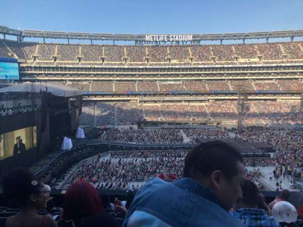 MetLife Stadium, section: 240, row: 8, seat: 15