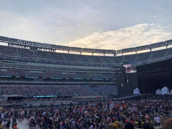 MetLife Stadium, section: 115c, row: 4, seat: 7