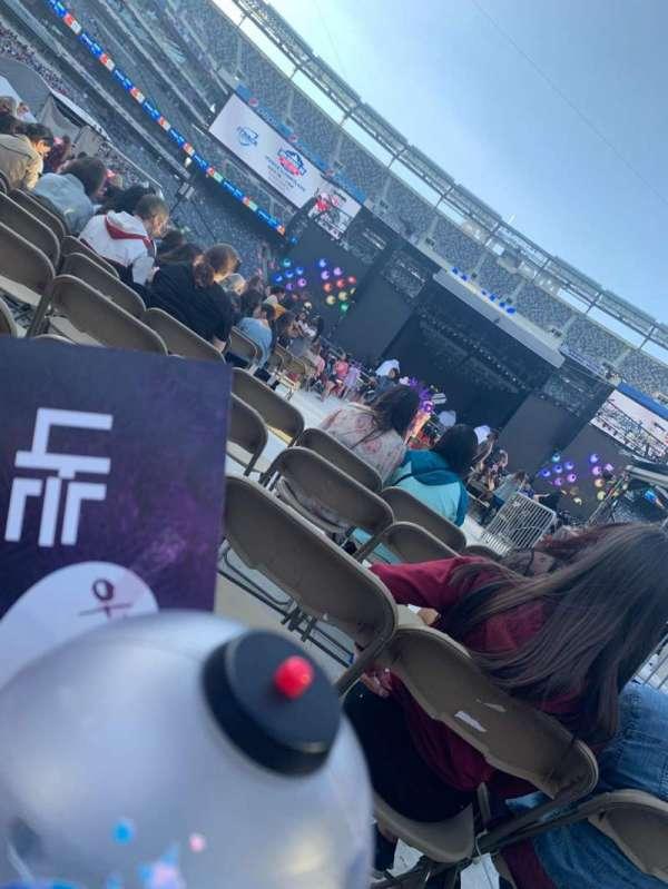 MetLife Stadium, section: 13, row: 13, seat: 3