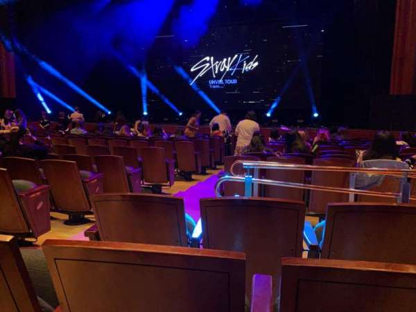 Prudential Hall at the New Jersey Performing Arts Center, section: ORCH R, row: G, seat: 6