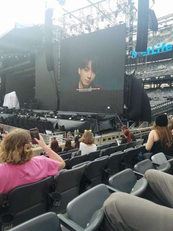 Metlife Stadium, section: 111A, row: 6, seat: 12