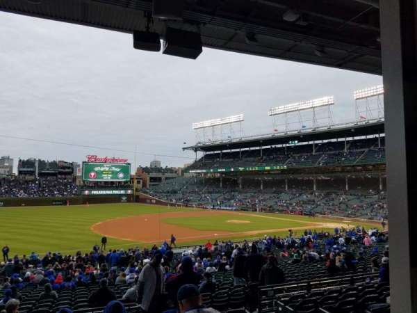 Wrigley field home of chicago cubs