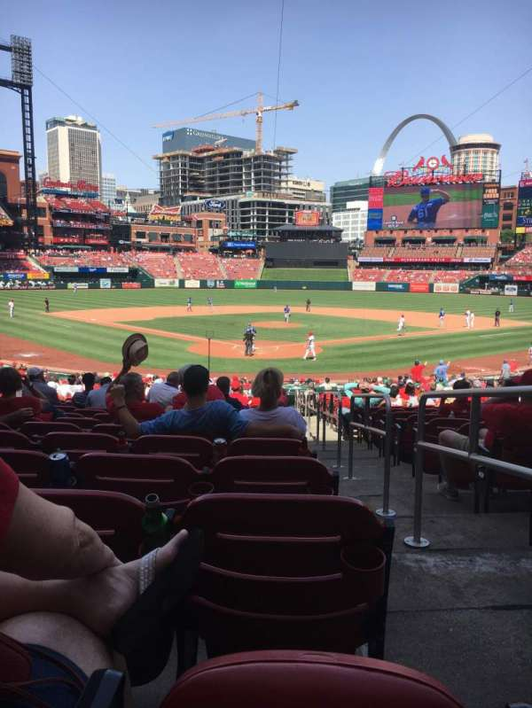 Busch Stadium, section: 150, row: 20, seat: 1