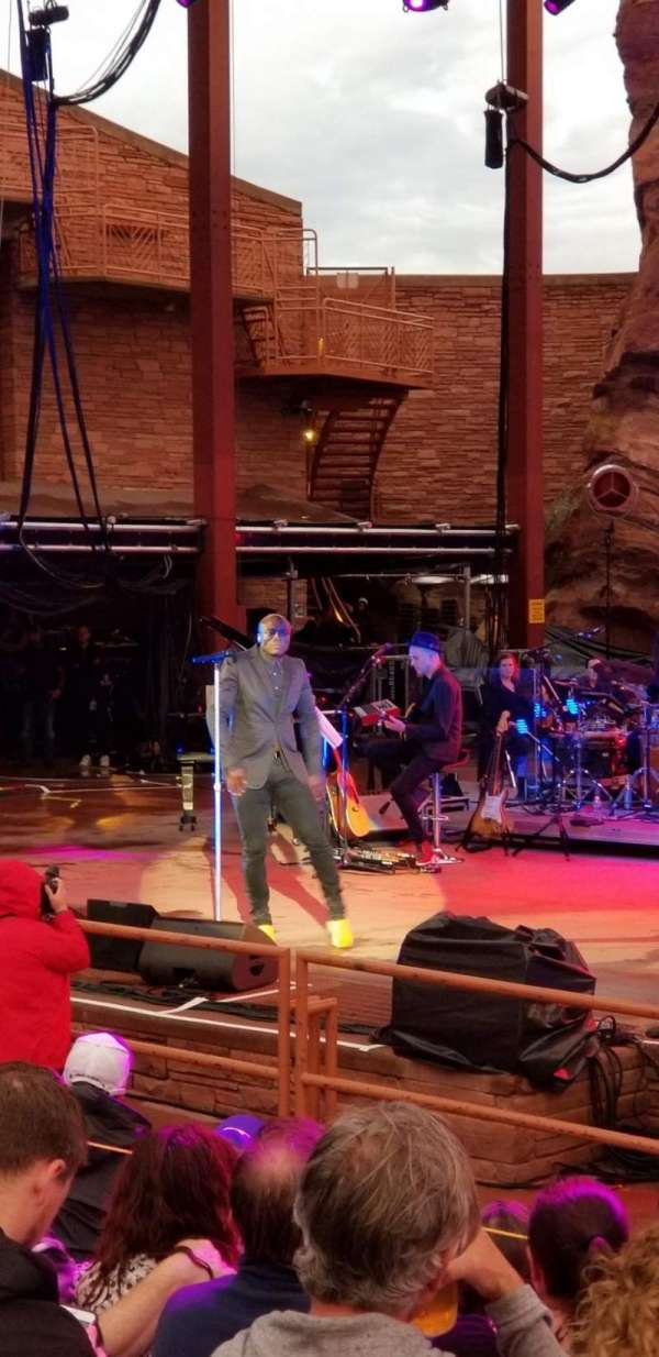 Red Rocks Amphitheatre, section: Reserved, row: 5, seat: 40?