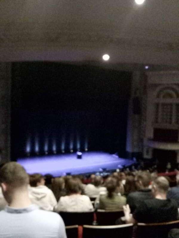 Edinburgh Playhouse, section: Circle, row: K, seat: 47