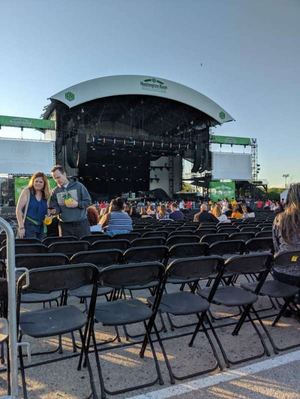 Huntington Bank Pavilion at Northerly Island, section: 308, row: A, seat: 25
