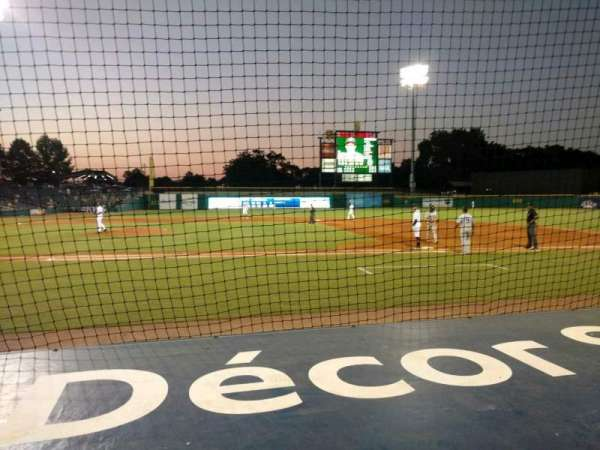 Montgomery Riverwalk Stadium, section: 116, row: 5, seat: 10
