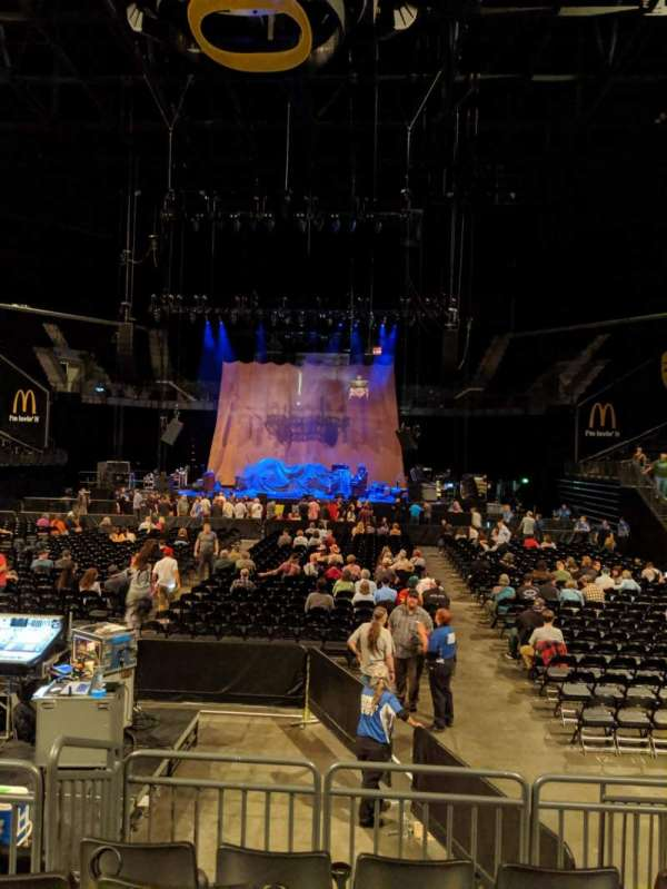 Matthew Knight Arena, section: 107, row: A, seat: 8and9