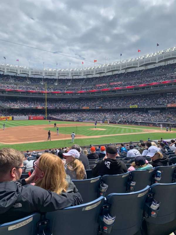 Yankee Stadium, section: 126, row: 11, seat: 14