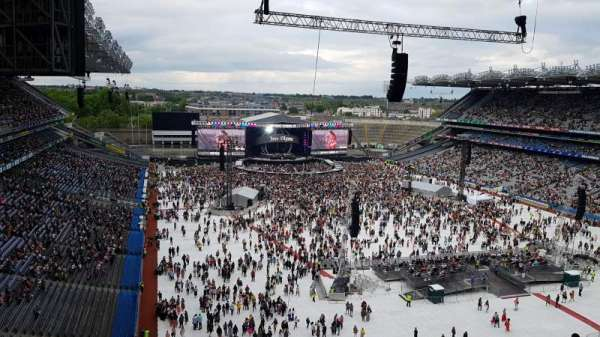 Croke park, section: Upper Hogan Stand 722, seat: 15/16