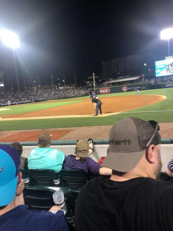 BB&T Ballpark (Charlotte), section: 105, row: D, seat: 5