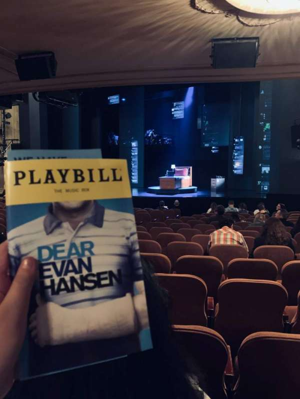 Music Box Theatre, section: Orcho, row: P, seat: 16