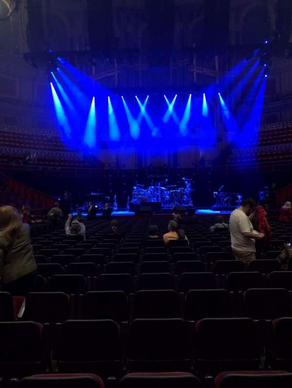 Royal Albert Hall, section: C, row: 24, seat: 17