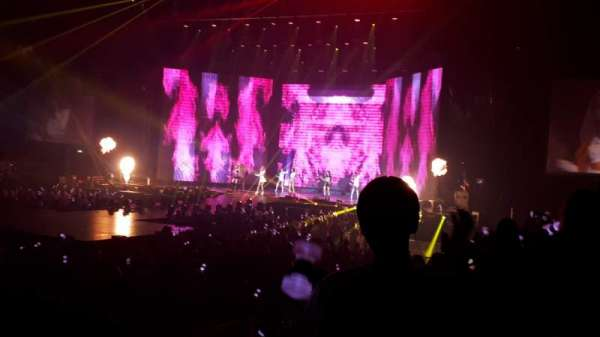 AO Arena, section: 113, row: H, seat: 22