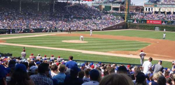 Wrigley Field, section: 125, row: 15, seat: 13