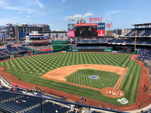 Nationals Park, section: 311, row: B, seat: 13
