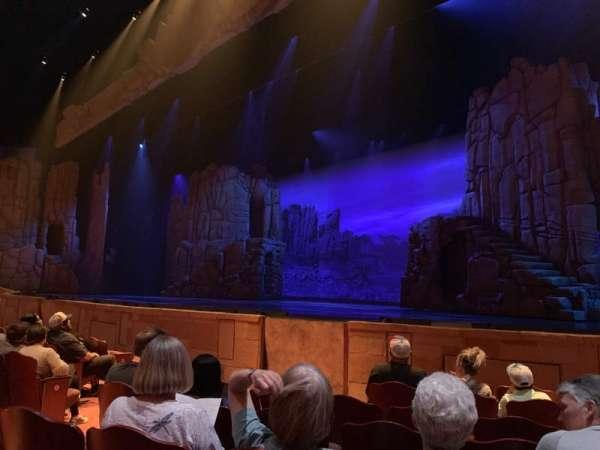 Sight & Sound Theater (Branson), section: C, row: G, seat: 86