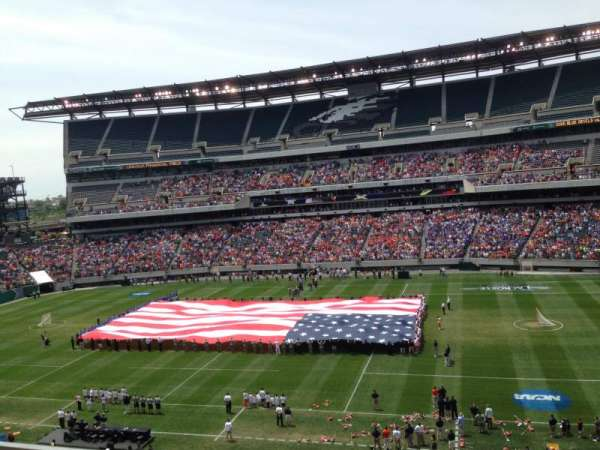 Lincoln Financial Field, section: C23, row: 16, seat: 20