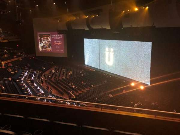 Park Theater at Park MGM, section: 403, row: D, seat: 10