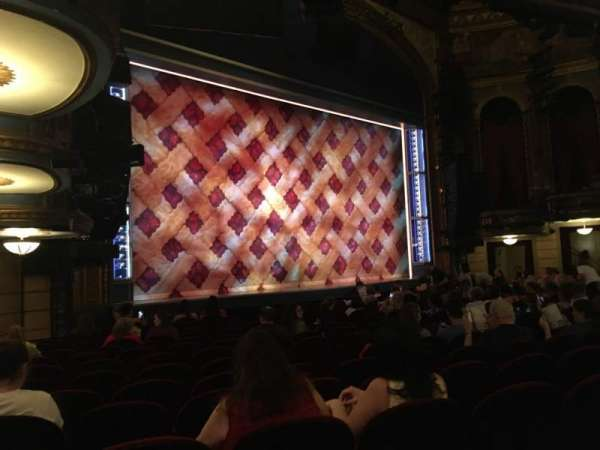 Brooks Atkinson Theatre, section: Orchestra, row: N, seat: 25