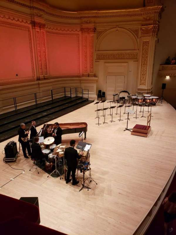Carnegie Hall, section: Box 63, row: 1, seat: 2