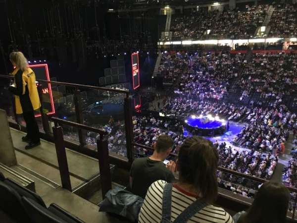 Manchester Arena, section: 204, row: c, seat: 5